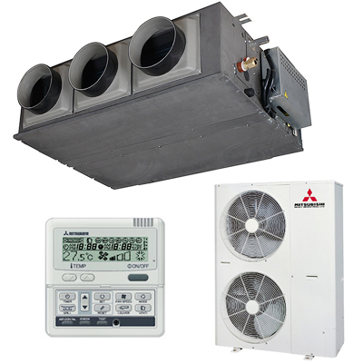 Кондиционеры Канальные кондиционеры: Канальный кондиционер   FDUM140VD/FDC140VN Серия FDUM Inverter