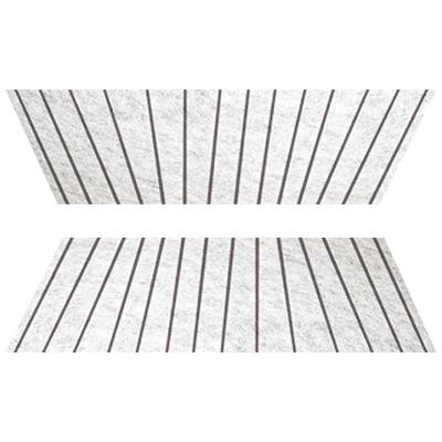 Бытовая техника Аксессуары для вытяжек: Аксессуар для вытяжки   Жиропоглощающий фильтр для воздухоочистителей (2 шт.)