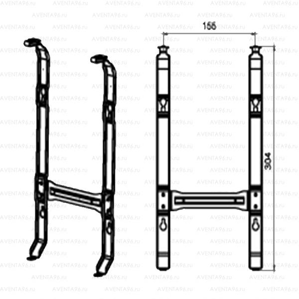ZHC-BR 3.0 - Кронштейн для настенной установки