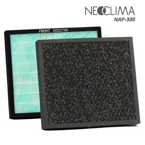 Очистители и увлажнители Аксессуары и фильтры: Комплект фильтров (Комбинированный HEPA-фильтр + угольный фильтр) для NAP-300