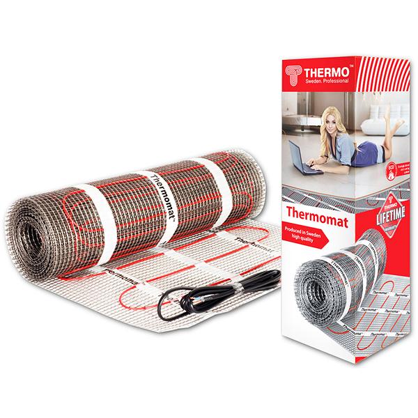 Теплый пол и греющий кабель Нагревательные маты: Нагревательный мат   Thermomat 130 TVK-190