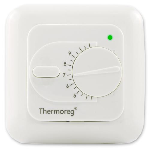 Теплый пол и греющий кабель Терморегуляторы для теплого пола: Терморегулятор для теплого пола   Thermoreg TI 200 классический