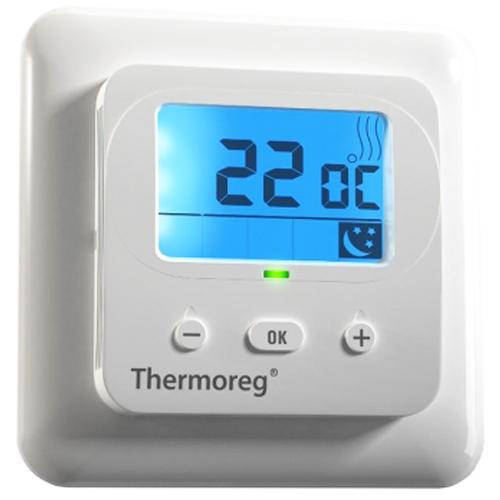 Теплый пол и греющий кабель Терморегуляторы для теплого пола: Терморегулятор для теплого пола   Thermoreg TI 900 программируемый