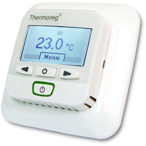Теплый пол и греющий кабель Терморегуляторы для теплого пола: Терморегулятор для теплого пола   Thermoreg TI 950 интеллектуальный