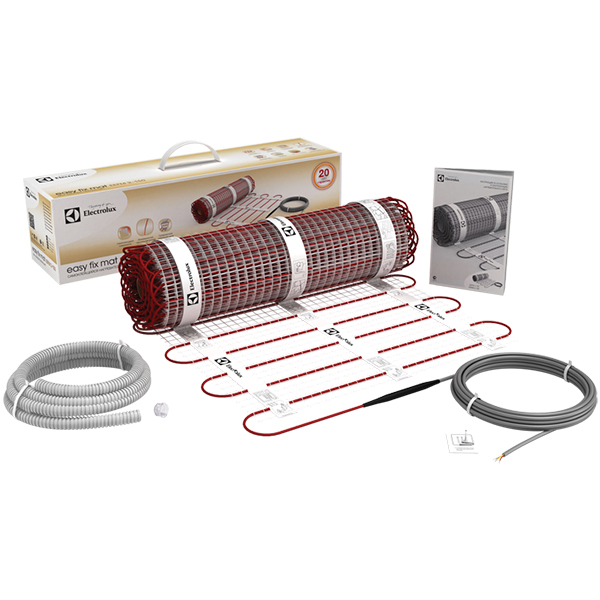 Теплый пол и греющий кабель Нагревательные маты: Нагревательный мат   EEFM 2-150-1