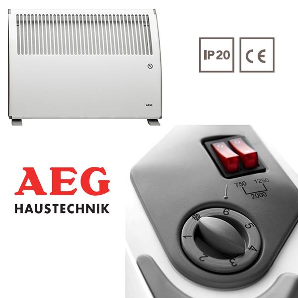 Электрический конвектор AEG SK 204, купить по недорогой ...