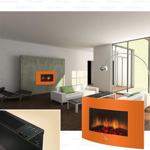 Электрокамин electrolux efp/w-1200urls оранжевый беседки с барбекю из металлоконструкций
