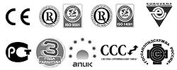 Климатическая техника DAIKIN сертифицирована и соответствует всем требованиям
