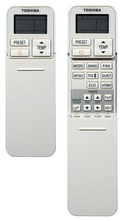 Новый эргономичный пульт Toshiba N3KV