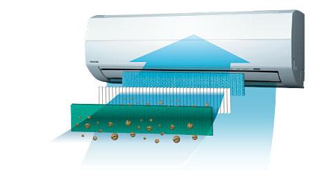 Новый воздушный фильтр Toshiba IAQ
