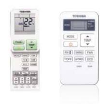 Выбор пульта ДУ Toshiba в кондиционерах Mirai