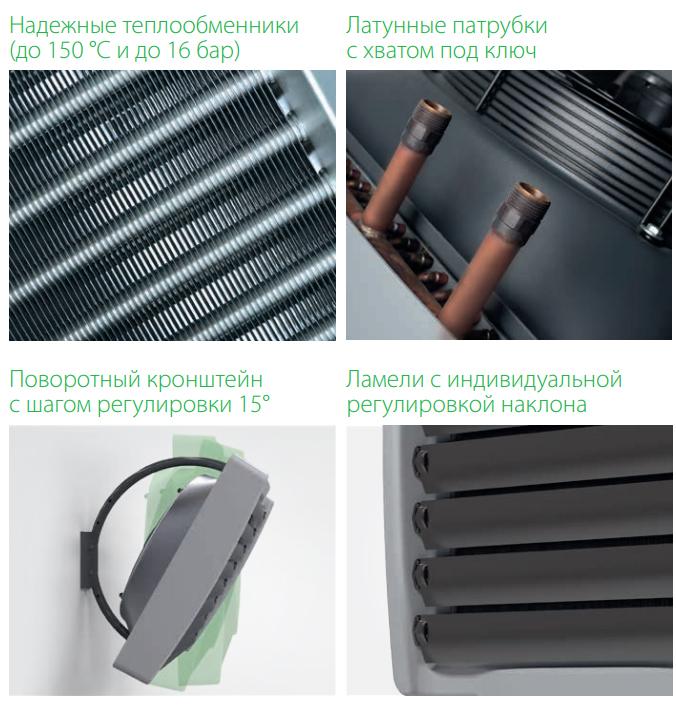 Преимущества и отличительные особенности водяных тепловентиляторов Ballu BHP-W2